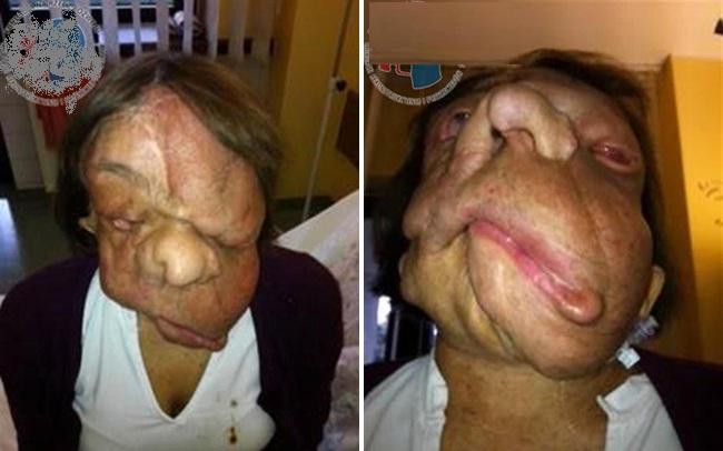 người phụ nữ với gương mặt quỷ, gương mặt quỷ