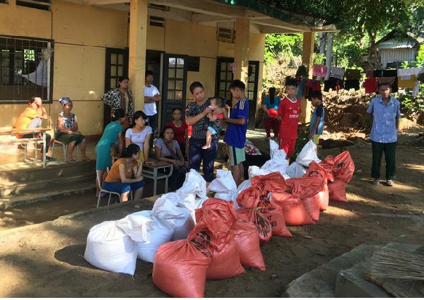 Hỗ trợ khẩn cấp cho người dân Huyện Mường Lát