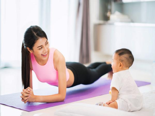 Giảm béo sau sinh chị em nên tập luyện thế nào?