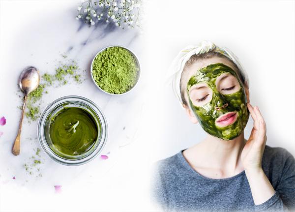 Dưỡng da bằng bột trà xanh hiệu quả nhất