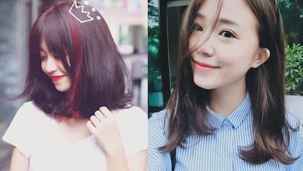 Những kiểu tóc ngắn, dễ thương cho nữ mặt tròn