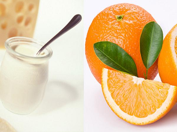 Cách trị mụn bọc hiệu quả bằng sữa chua và nước cam