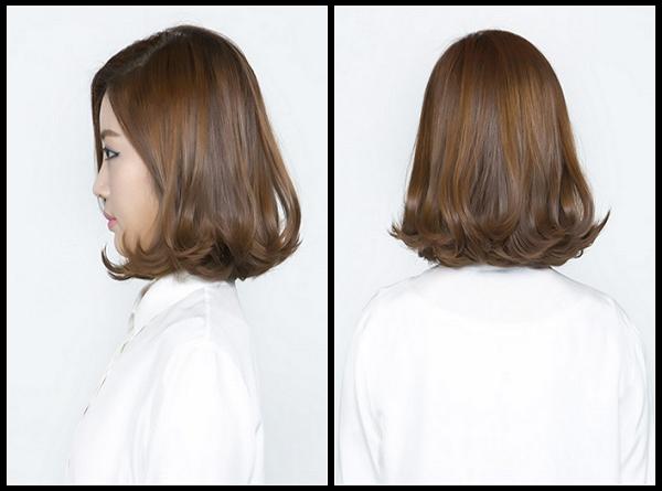 Nâu hạt giẻ - màu tóc đẹp cho tóc ngắn nữ