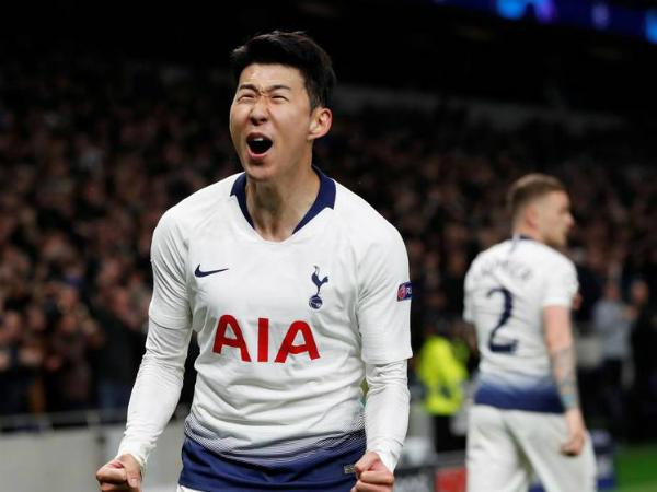 Tottenham thắng Man City 1-0 nhờ pha lập công của Son Heung Min