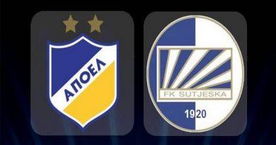 Soi kèo APOEL Nicosia vs Sutjeska, 0h00 ngày 31/07
