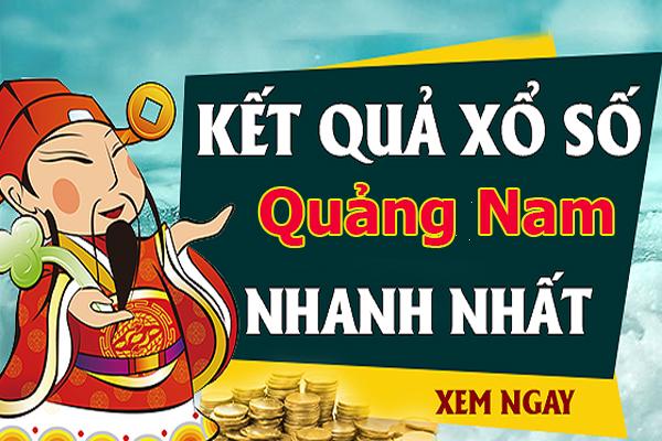 Soi cầu XS Quảng Nam chính xác thứ 3 ngày 09/07/2019