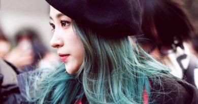 Nhuộm tóc màu xanh rêu phù hợp với làn da nào?