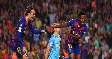 Messi bắt đầu giữ ngai vua phá lưới tại C1