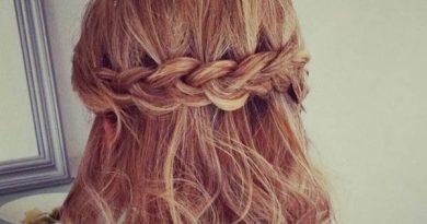 Các kiểu tết tóc ngắn dễ thương cho bạn gái