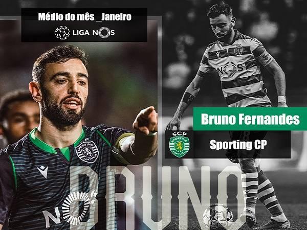 Bruno Fernandes nhận giải thưởng danh giá ở quê nhà