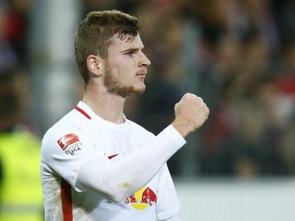 """Tin bóng đá tối 4/5: Werner nói """"Không"""" với Bayern"""