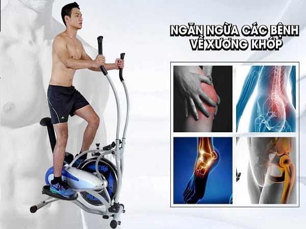 Đạp xe tốt cho hệ xương khớp