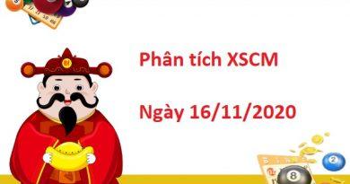 Phân tích XSCM 16/11/2020 siêu nhanh - Soi cầu dự đoán xổ số Cà Mau ngày 16 tháng 11 năm 2020. Tham khảo thống kê soi cầu XSCM dự đoán kết quả xổ số Cà Mau ngày 16/11/2020 cùng các chuyên gia bạn nhé Phân tích XSCM 16/11/2020 được nhận định và phân tích bởi các chuyên gia dựa trên bảng kết quả XSCMAU - Xổ số đài Cà Mau