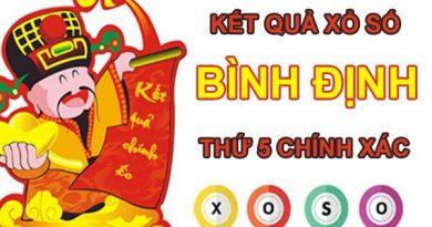 Soi cầu KQXS Bình Định 29/7/2021 thứ 5 cùng chuyên gia
