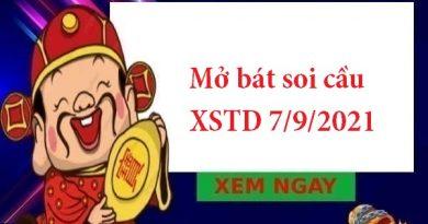 Mở bát soi cầu XSTD 7/9/2021