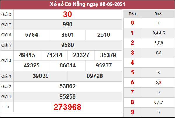 Dự đoán XSDNG 11/9/2021 chốt KQXS Đà Nẵng hôm nay
