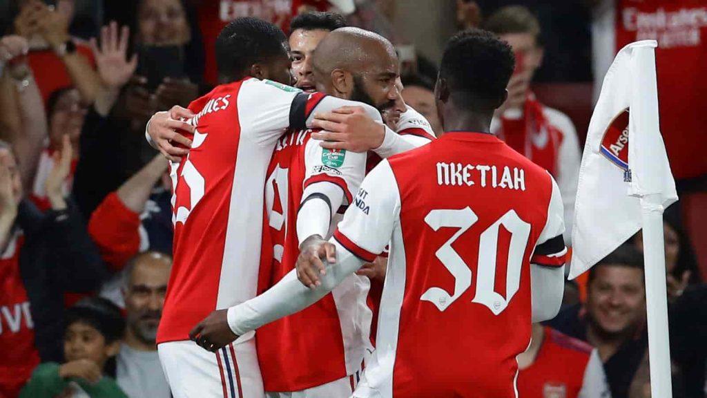 KQBD Arsenal 3-0 AFC Wimbledon: Chiến thắng