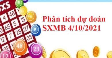 Phân tích dự đoán KQSXMB 4/10/2021