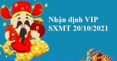 Nhận định VIP SXMT 20/10/2021