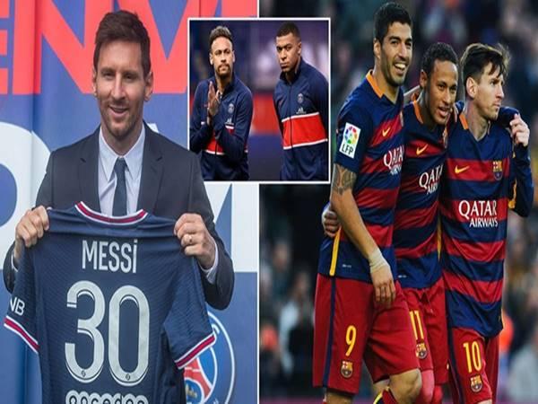 Tin PSG 14/10: Messi chia sẻ về 2 người đồng đội mới và cũ