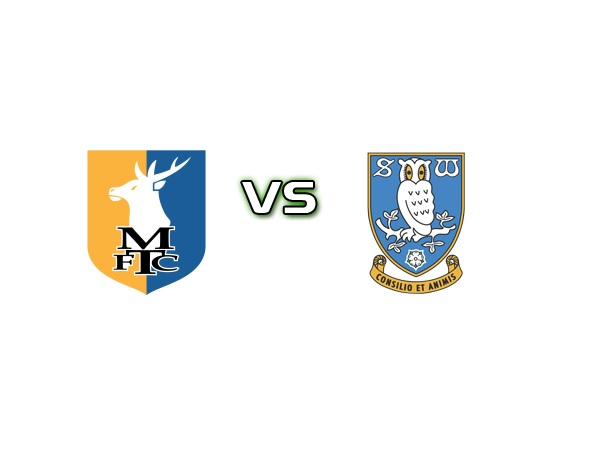 Tip kèo Mansfield vs Sheffield Wed – 01h00 06/10, League Trophy Anh